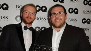Simon Pegg And Nick Frost Share 'Plan' To Tackle Coronavirus