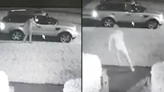 Car Thief Shocked As Owner's Naked Boyfriend Stops Him Taking It
