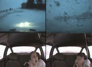 Dashcam Footage Shows Teen Crashing Car While Talking On The Phone