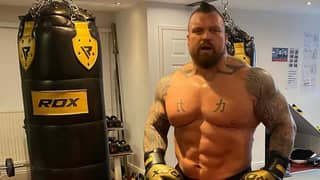 ​Eddie Hall Has Lost Five-And-A-Half Stone Since Winning World's Strongest Man
