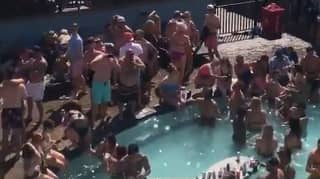 Hundreds Enjoy Huge Memorial Day Pool Party In The US