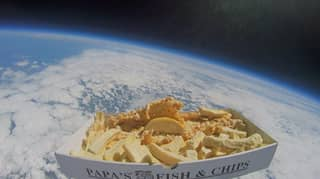 'Britain's Best Chippy' Becomes First To Send A Portion Into Space