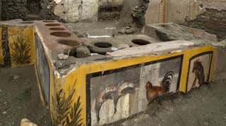 Ancient Street Food Stall Unearthed At Pompeii In Italy