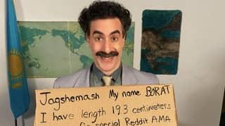 Borat Mocks 'Judy Riuliani' In A Chaotic Reddit AMA