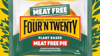 Four'N Twenty Unveils Its First Ever Meat-Free Plant-Based Pie
