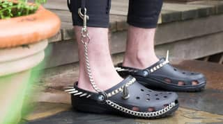 You Can Now Buy 'Goth Crocs' With Spikes And Chains