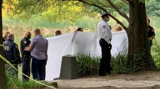 Fisherman Hooks A Dead Body In Central Park Lake