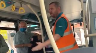 Row Over Wearing Face Masks Breaks Out On Liverpool Arriva Bus