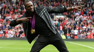 Usain Bolt Announces That He's Signed With A Football Team
