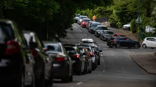 Drivers Queue For Seven Hours To Get Into Rubbish Tip