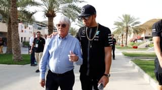 Lewis Hamilton Slams Bernie Ecclestone Over Claims Black People Are 'More Racist'