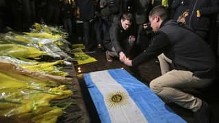 Emiliano Sala Fans Lay Flowers In Nantes And Cardiff After Plane He Was In Disappeared