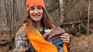 Mum Defends Her Hobby After Hunting While Pregnant And Later Taking Baby Son With Her