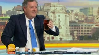 Piers Morgan Hit By Ofcom Complaints For Drinking Pint On Air At 6.38am