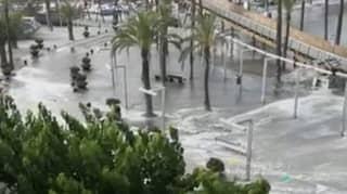 Mini Tsunami Hits Tourist Beaches In Menorca And Majorca