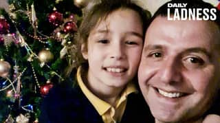 ​Dad Reunited With Daughter For Christmas After 10 Months Apart