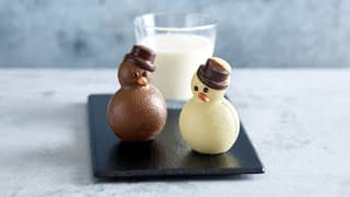 Aldi Is Selling A Melting Chocolate Snowman That Makes 'Perfect Hot Chocolate'
