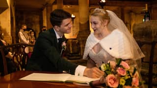 Couple Tie Knot To Become World's First Mr And Mrs White-Christmas