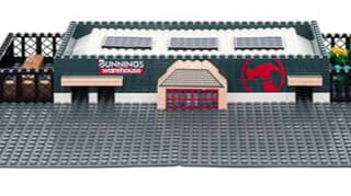 Bunnings Is Bringing Back Its Iconic Warehouse LEGO-Style Set