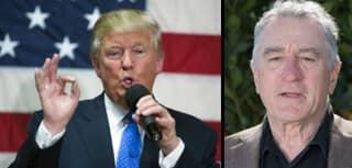 Robert De Niro Cannot Stop Going In On Trump