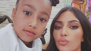Kim Kardashian Hits Back At Critics Who Claim Her 7-Year-Old Daughter Didn't Create Painting