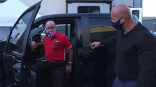Dwayne Johnson Gifts His Lifelong Pal A New Car