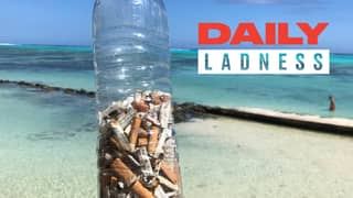 Teens Start Viral #FillTheBottle Trend To Help Clean Up Cigarette Butts