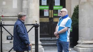 Pictures Show Drinkers Outside Wetherspoons At 8am As Pubs Reopen Today