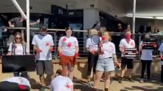 Vegan Protestors Clash With Diners After Staging A Rally Outside Australian Restaurant