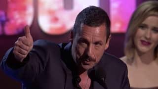 Adam Sandler Jokes About His Oscars Snub During Independent Spirit Awards Best Actor Speech