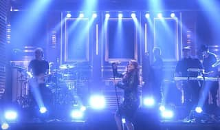 Meghan Trainor Totally Stacked It On 'Jimmy Fallon' Last Night