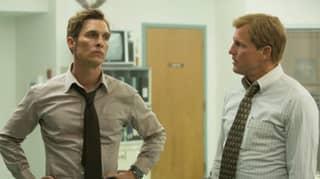 True Detective Stars Matthew McConaughey And Woody Harrelson Reunite For Photo