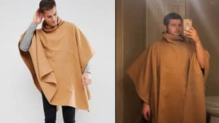 Man Orders Stylish Poncho But It Goes Horribly Wrong