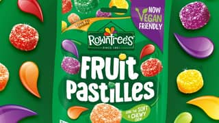 Rowntree's Fruit Pastilles Are Getting A Vegan-Friendly Makeover