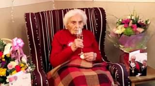 105-Year-Old Former Wartime Nurse Says Avoiding Men Is Secret To Long Life