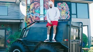 Chris Brown Says Kanye West Has Gifted Him A Massive Truck