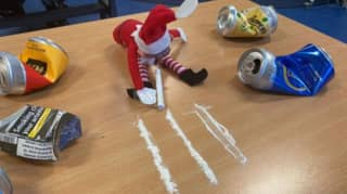 Investigation Launched Over Special School Elf On The Shelf Cocaine Prank