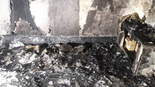 Man's Romantic Marriage Proposal Goes Horribly Wrong After He Accidentally Set Flat On Fire