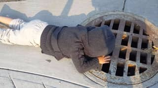 Little Girl Chats To 'Guys In Drain' And Now I Think 'It' Is A True Story