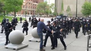 57 Police Resign After Two Officers Suspended For Shoving Elderly Man