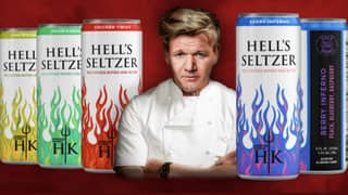 Gordon Ramsay Launches Range Of Hard Seltzers And The Flavour Names Are Very On Brand