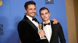 James Franco Wins Best Actor Golden Globe For 'The Disaster Artist'