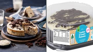 Woolworths Has Unveiled A Fancy, New Cookies And Cream Mudcake