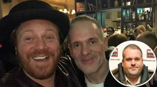 Chris Moyles Reveals Significant Weight Loss In Picture With Keith Lemon