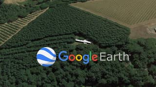 Google Earth: Mystery Of Plane In Middle Of Forest Revealed On Google Maps