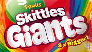 Skittles Giants Are Arriving In The UK And Are Three Times The Size