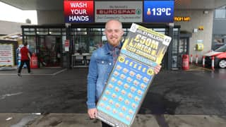 Supermarket Manager Wins £1m Off £5 Scratchcard But Won't Quit His Job