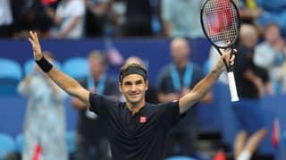 Roger Federer Beats Serena Williams At Hopman Cup In Australia