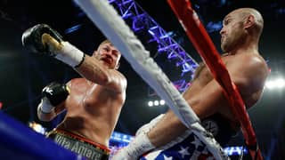 Tyson Fury Dodged Seven Punches From Tom Schwarz In Five Seconds During Last Night's Fight