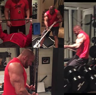 Triple H Is Training Like An Absolute Animal For WrestleMania